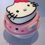 Hello Kitty 2-tier cake