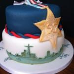 Arctic Convoy Birthday Cake