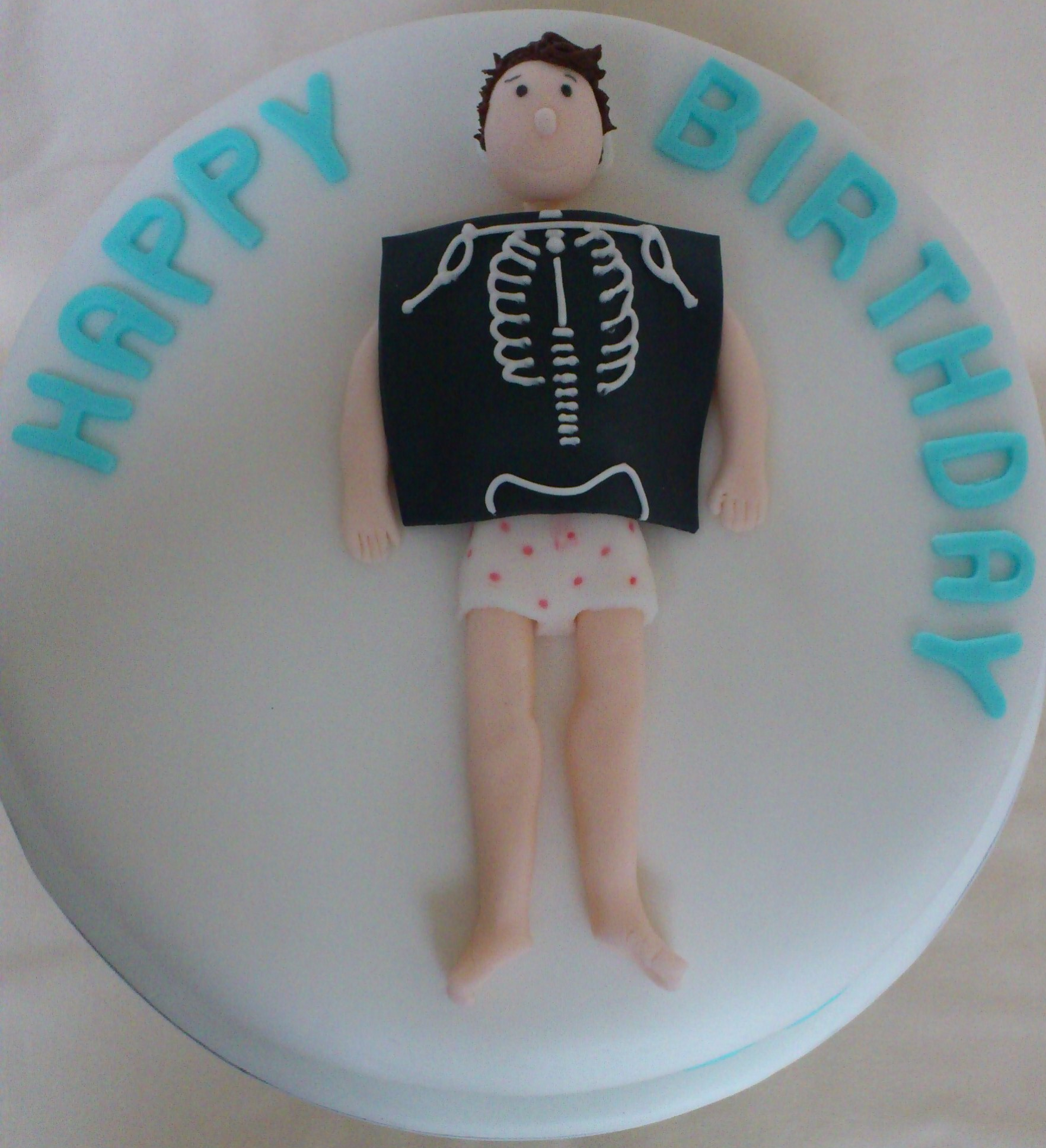 Radiography cake Baked Beauties