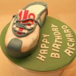 parkrun trainer cake