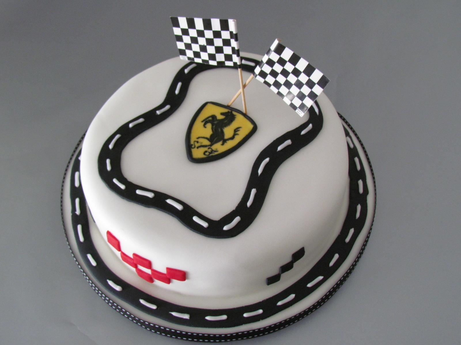 Terrific Ferrari Baked Beauties Funny Birthday Cards Online Ioscodamsfinfo