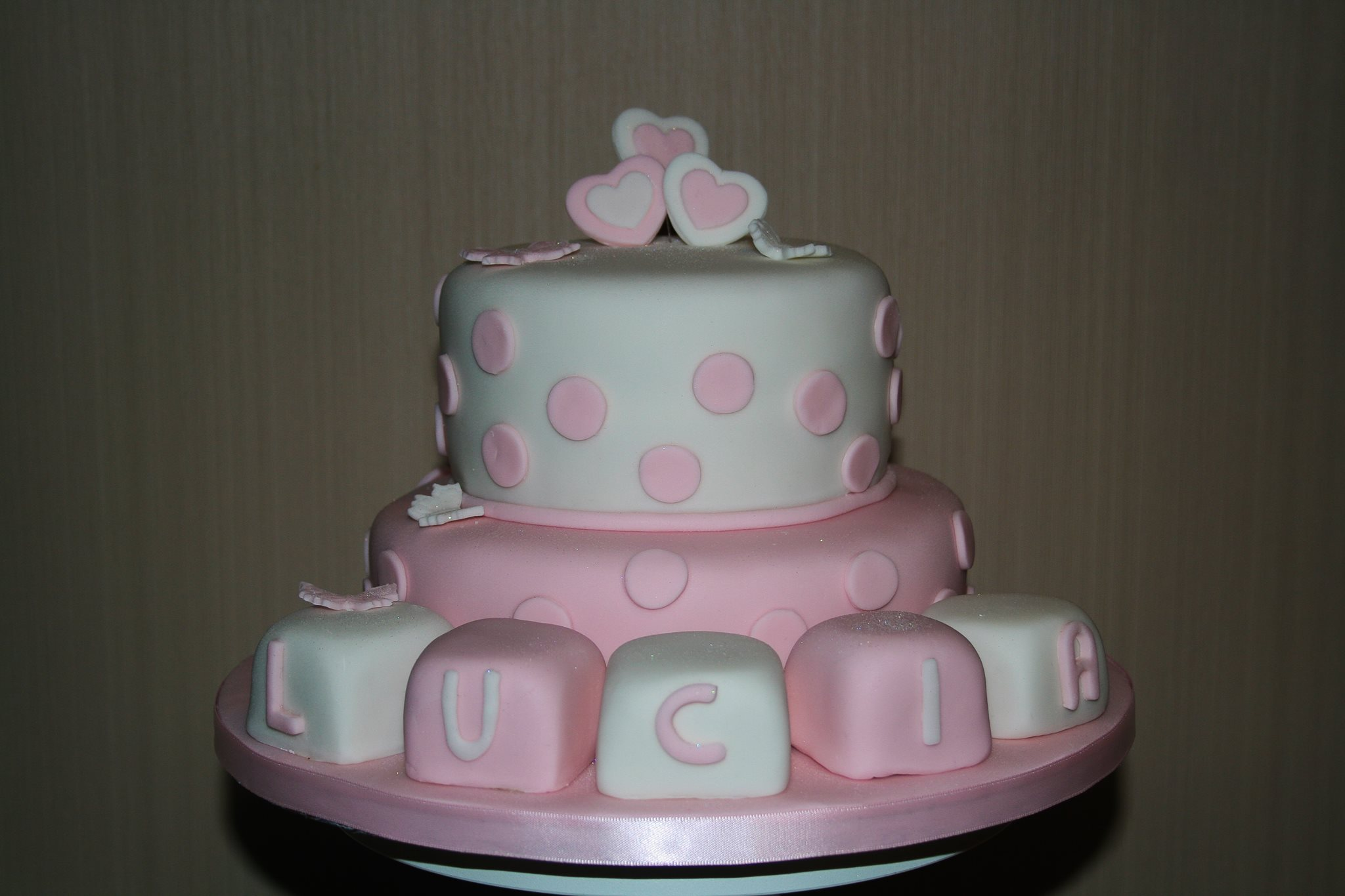 A Christening cake for Lucia